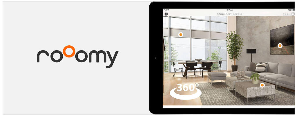 Roomy augmented reality real estate tools